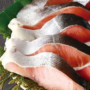 鮭切身セット(北海のブランド鮭べにさけ・あきざけ) 個別包装(海鮮セット 御歳暮 ギフト 贈り物に!)鮭食べ比べ (送料無料)_画像7
