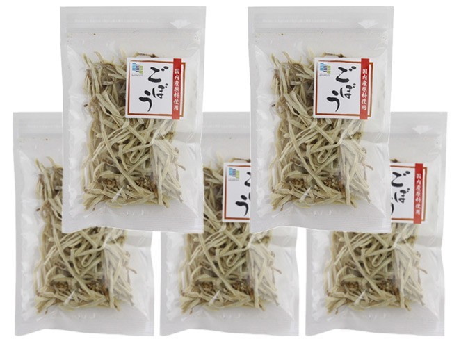 乾燥ごぼう20g×5個セット【国内産原料使用】ゴボウを熱湯で戻すだけの簡単調理!牛蒡の旨味、栄養、美味しさが食卓でお楽しみ頂けます_画像3