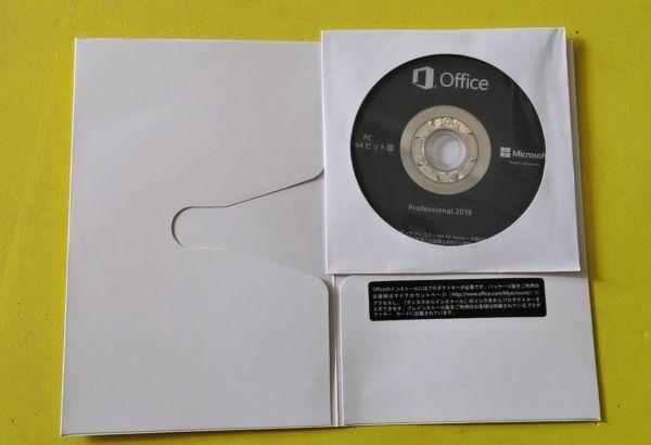新品Microsoft Office Professional 2019 64&32ビット両方インストール可 認証用プロダ