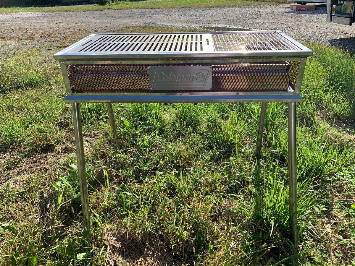 コールマン 定番 網サイズ 鉄板 BBQ 焼肉 キャンプ アウトドア