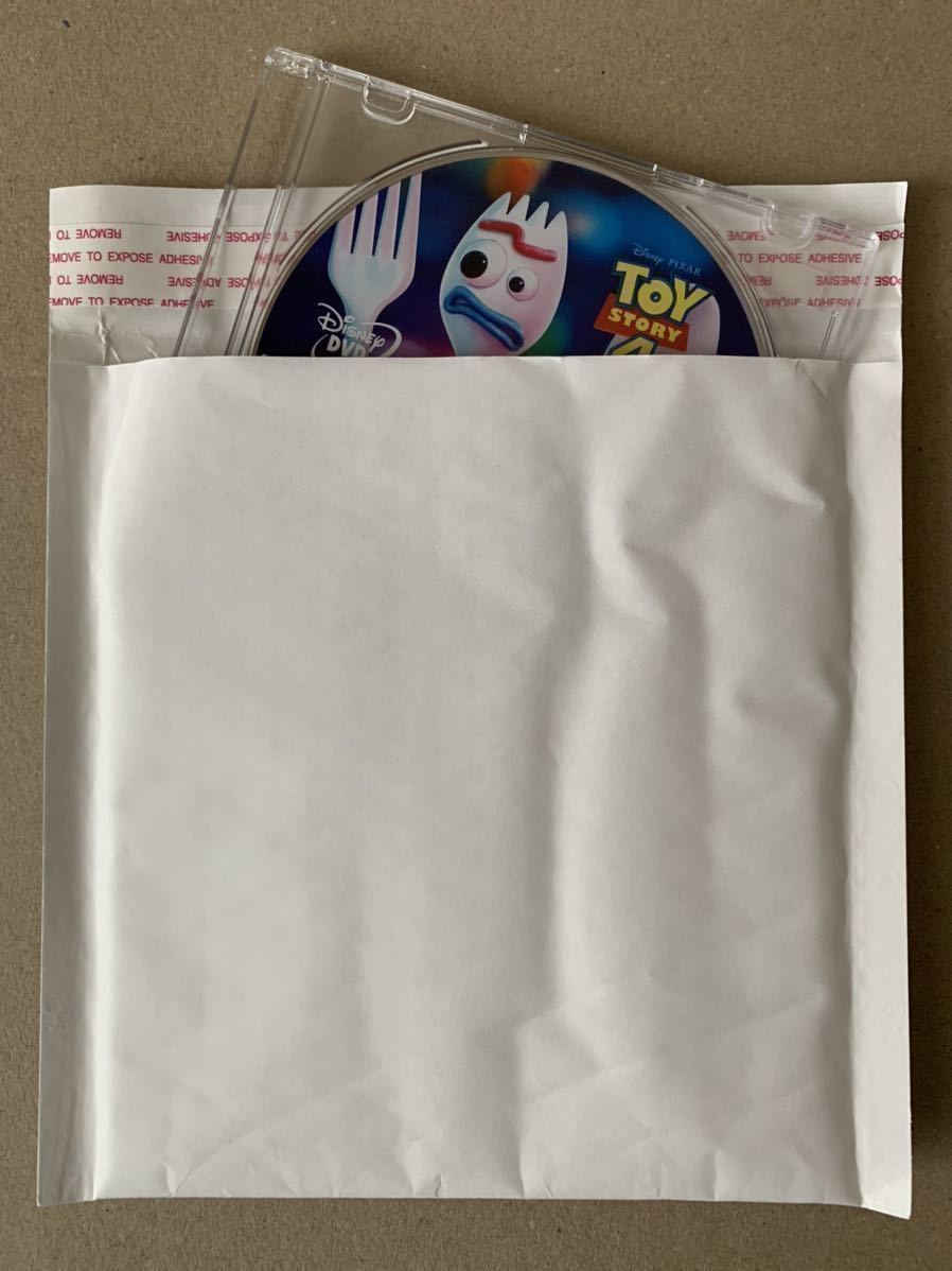 T29 トイストーリー TOY STORY 4 DVD 未再生品 国内正規品 同封可 ディズニー MovieNEX DVDのみ(純正ケース・Blu-ray・Magicコードなし)