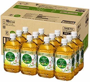 [トクホ] [訳あり(メーカー過剰在庫)] ヘルシア緑茶 うまみ贅沢仕立て 1L ×12本_画像1