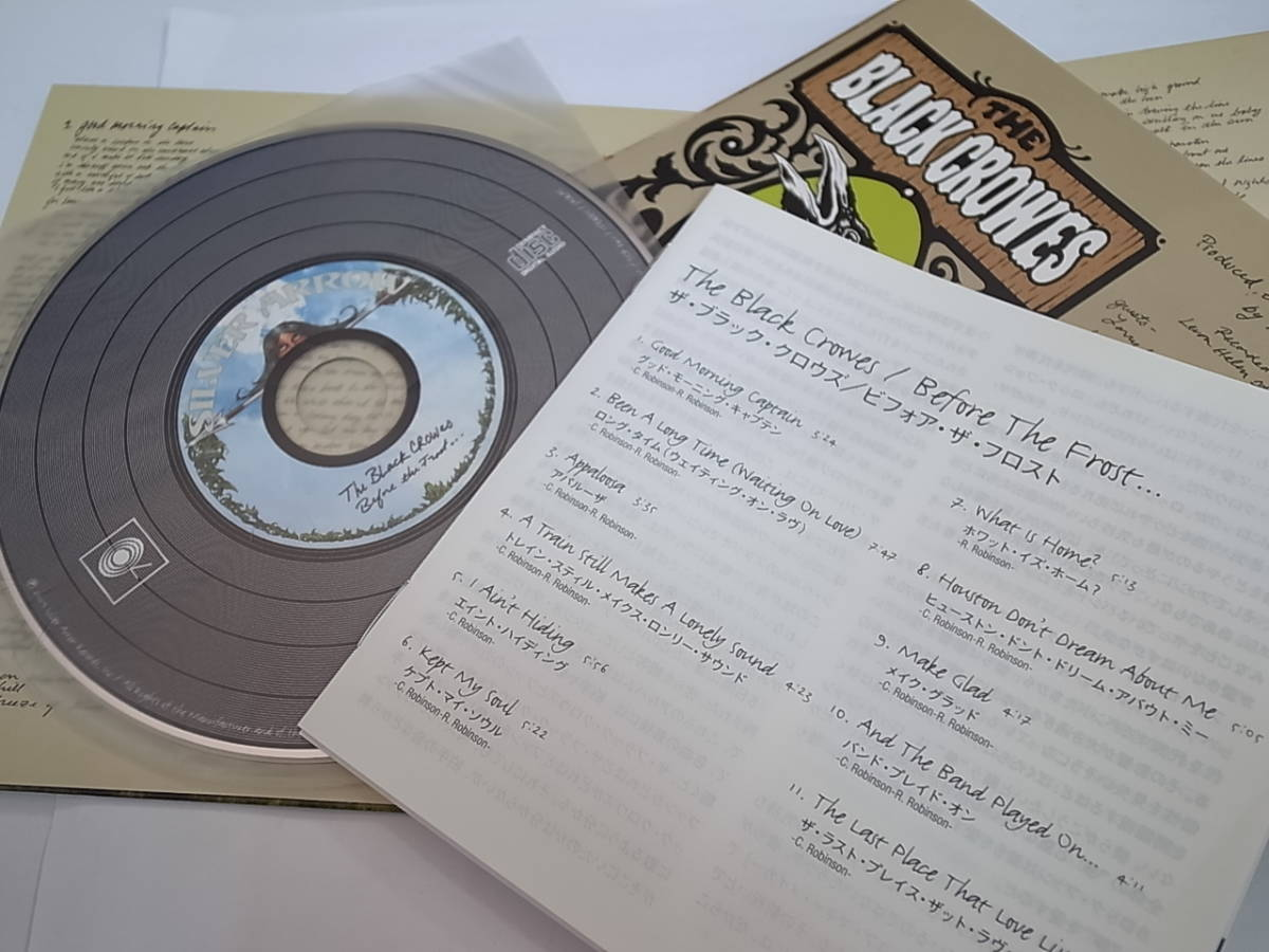 The Black Crowes/Before The Forest... ザ・ブラック・クロウズ/ビフォア・ザ・フォレスト/スタジオライブ録音/R&R名盤①