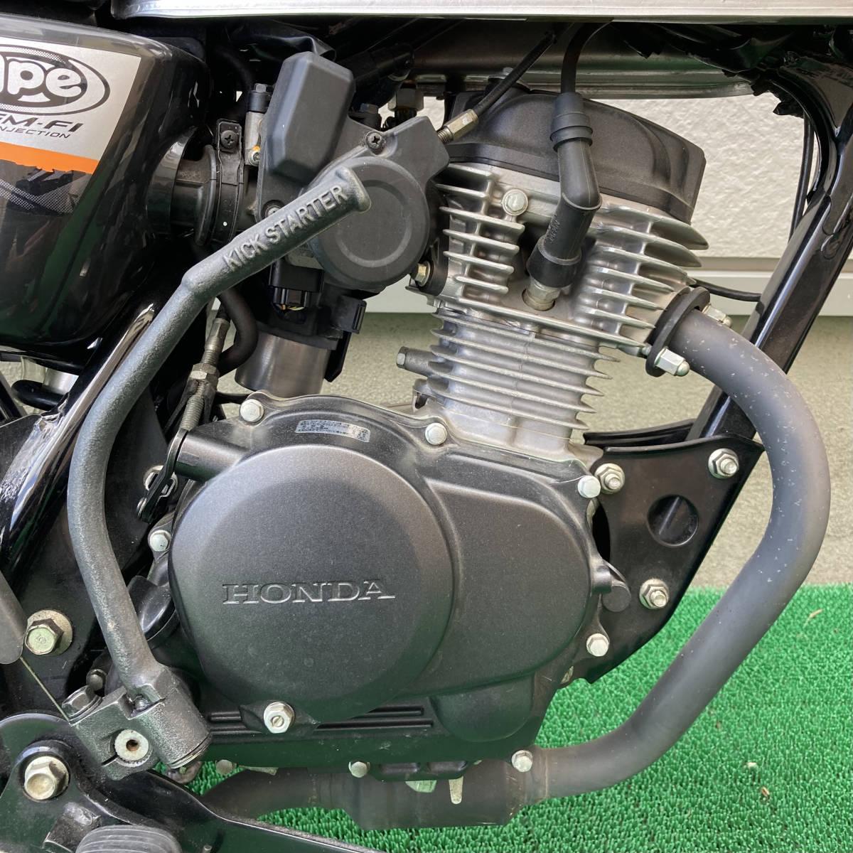 「引取限定 HONDA ホンダ APE Type D エイプ 50cc JBH-AC18 空冷 4スト 2010年代 自賠責付き 取扱説明書 クラッチ マニュアル 5速」の画像3