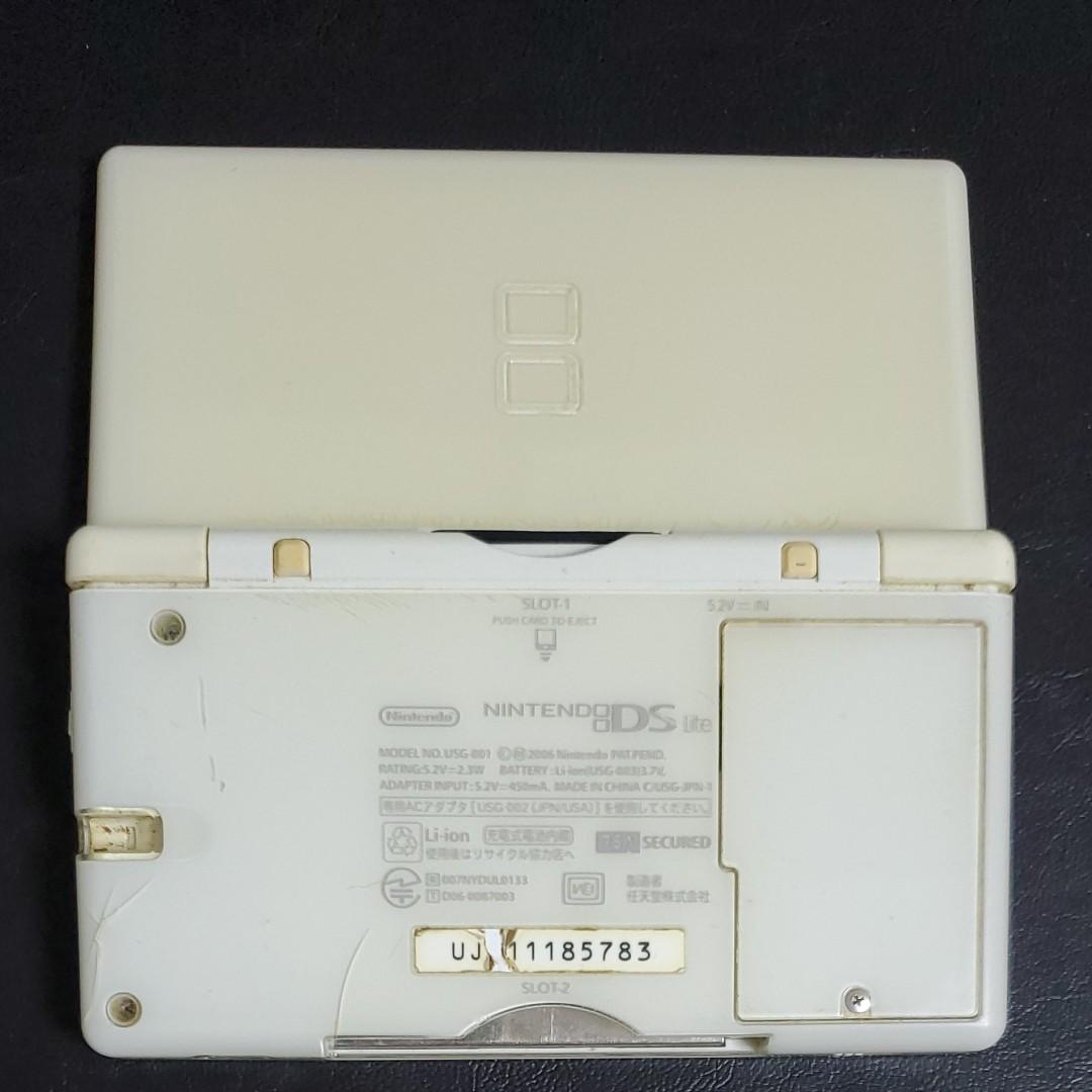 ニンテンドーDS Lite クリスタルホワイト ジャンク品