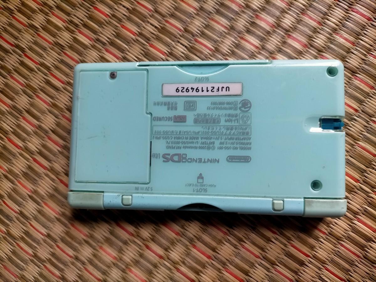 Nintendo ニンテンドーDS Lite 本体&充電器 ゲーム機器