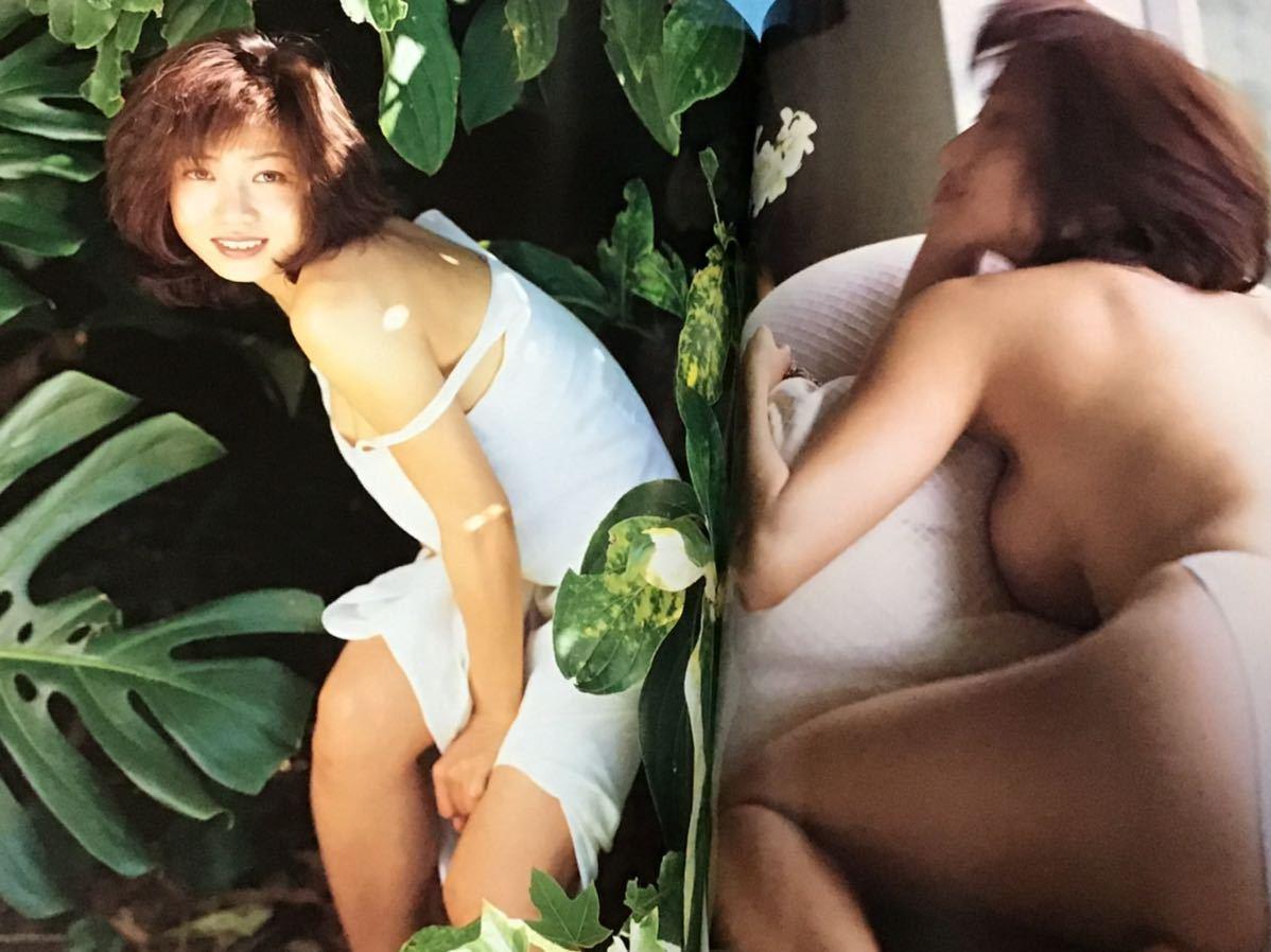 細川ふみえ写真集~ヴォーグ~初版 帯付き_画像5