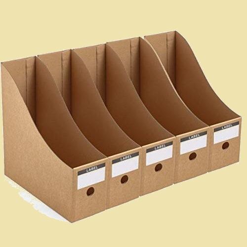 大人気 新品 未使用 Panavage X-DB 組み立て式 5個組 A4 紙 収納ボックス 小物入れ ファイルスタンド 書類ケ-ス 机上収納ボックス_画像1