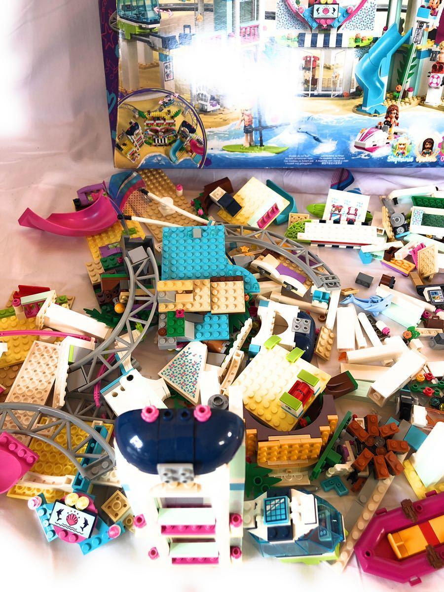 ★LEGO★ レゴ 41347 レゴフレンズ ハートレイクシティ リゾート ホテル 女の子 FRIENDS 現状販売_画像4
