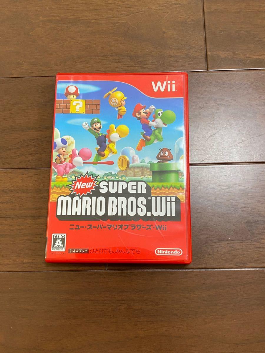 Wii ニュースーパーマリオブラザーズ Wiiソフト NewスーパーマリオブラザーズWii