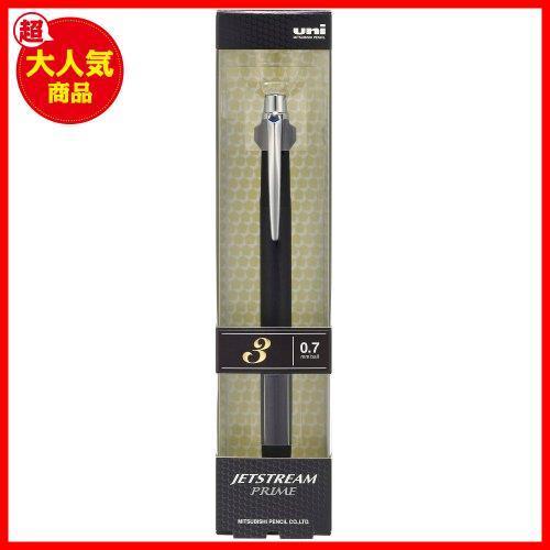 新品特価 ブラック 0.7 ジェットストリームプライム B2065 3色ボールペン SXE3300007.24 三菱鉛筆 ブラック_画像4