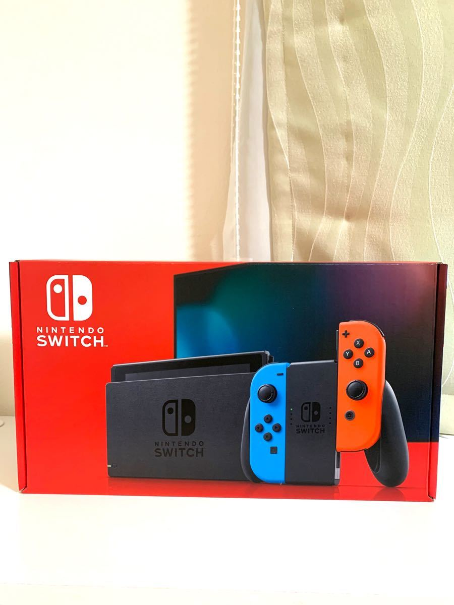 Nintendo Switch 本体 ネオンブルー / ネオンレッド