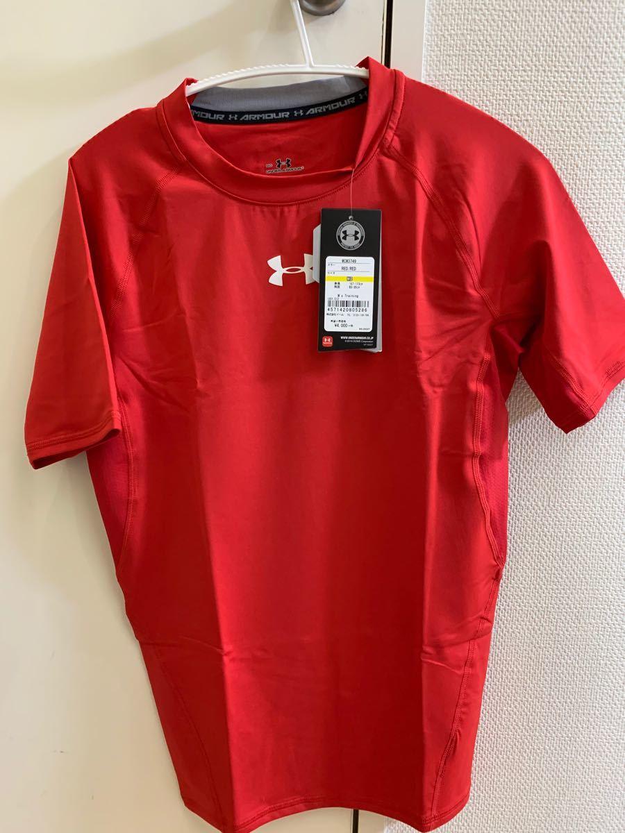 アンダーアーマー コンプレッションシャツ レッド ヒートギア MCM3749  サイズ M