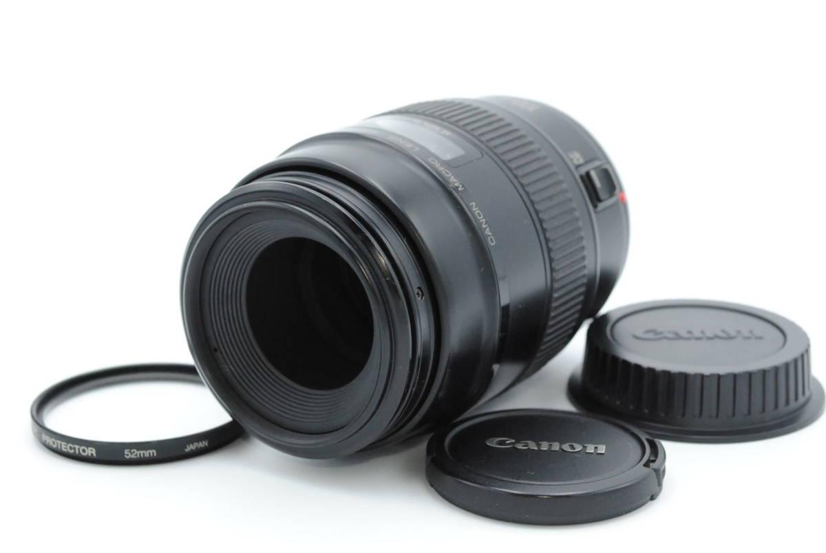 ★美品★ Canon キヤノン EF 100mm F2.8 MACRO USM ★透き通る追うな光学系 おまけ付★