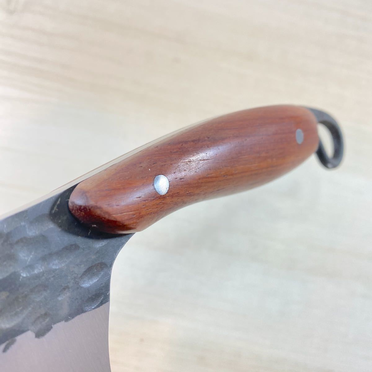 シースナイフ レザーケース付き! アウトドアナイフ