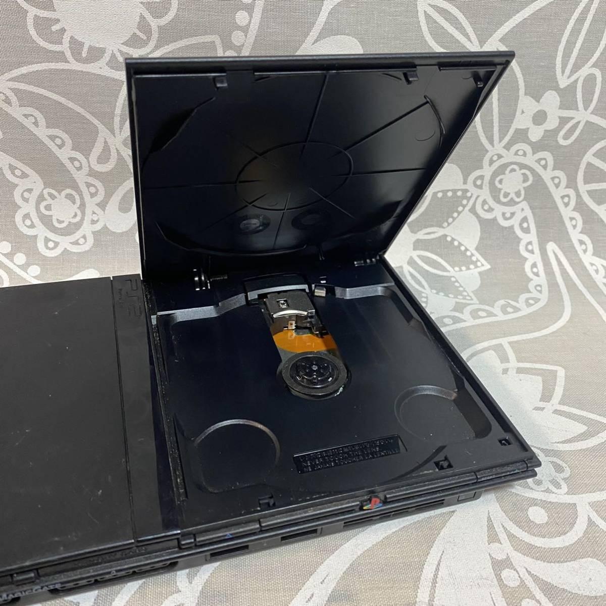 C 【動作品】 PS2 SCPH-70000 ブラック 薄型 SONY PlayStation2 プレステ2 プレイステーション 75000 77000 79000 90000 【本体のみ】
