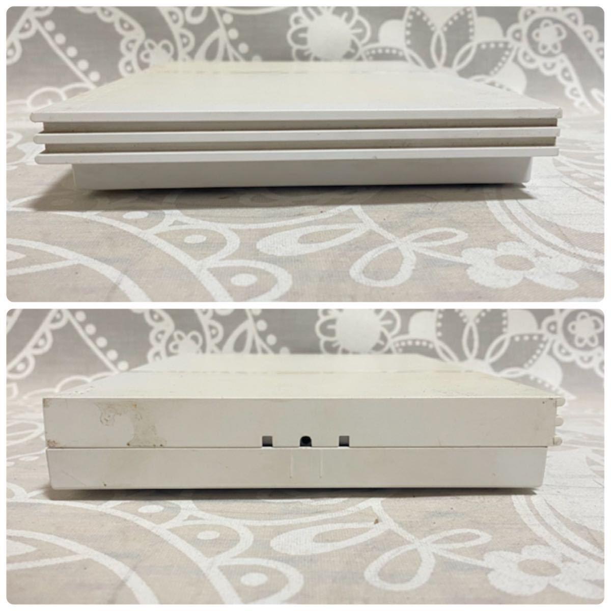 F 【動作品】 PS2 SCPH-75000 ホワイト SONY PlayStation2 プレステ2 プレイステーション 薄型 70000 77000 79000 90000 【本体のみ】