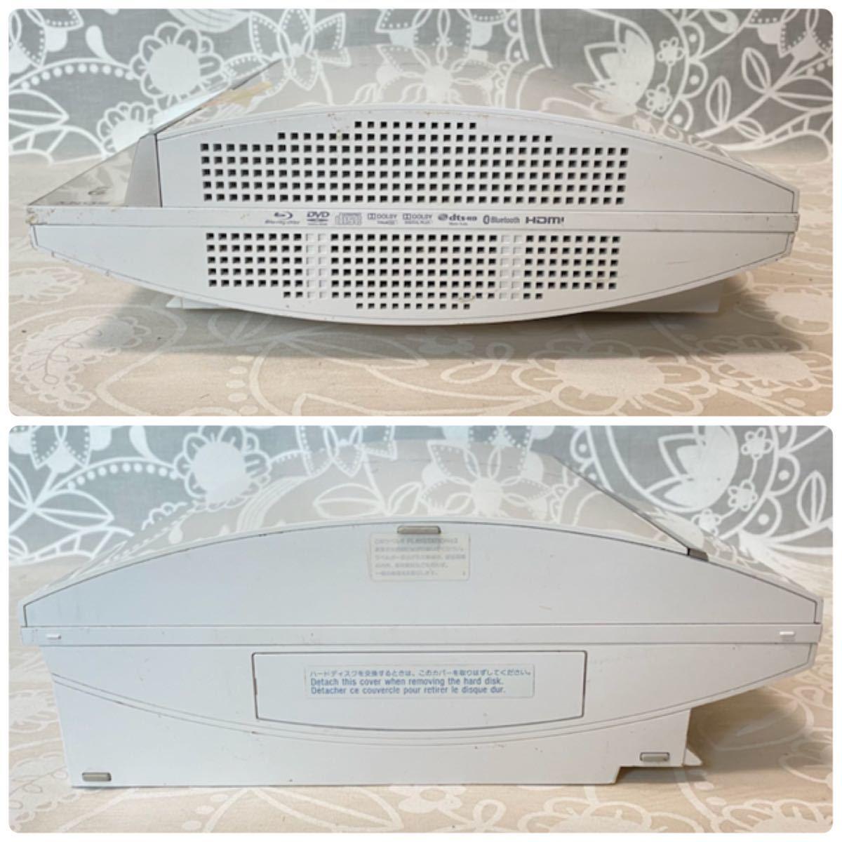 【動作OK】PS3 CECHL00 80GB ホワイト 初期型 プレステ3 PlayStation プレイステーション SONY Blu-ray DVD 【本体のみ】