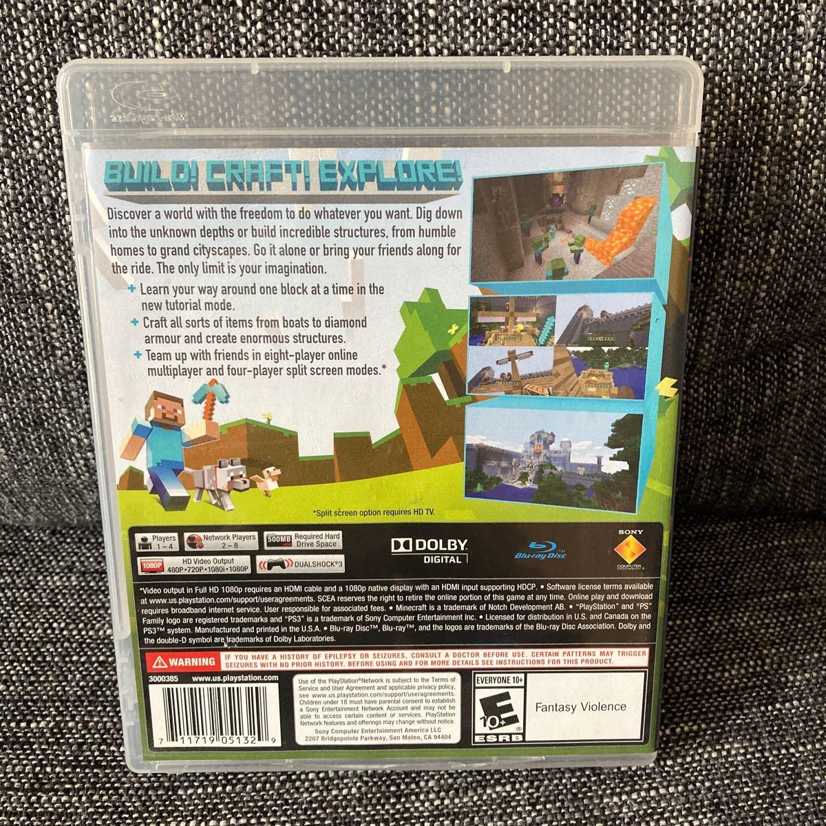 【PS3】 マインクラフト PS3EDITION [輸入:北米版]