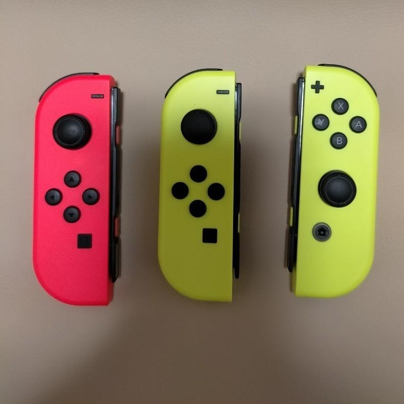ジョイコン Nintendo Switch ネオンレッド ネオンイエロー