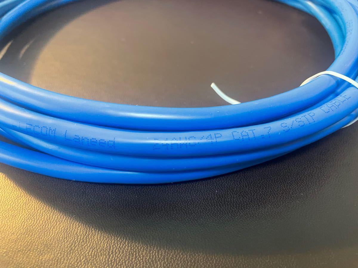 LANケーブル 5m CAT.7 ELECOM Laneed 24AMG/4P ブルー