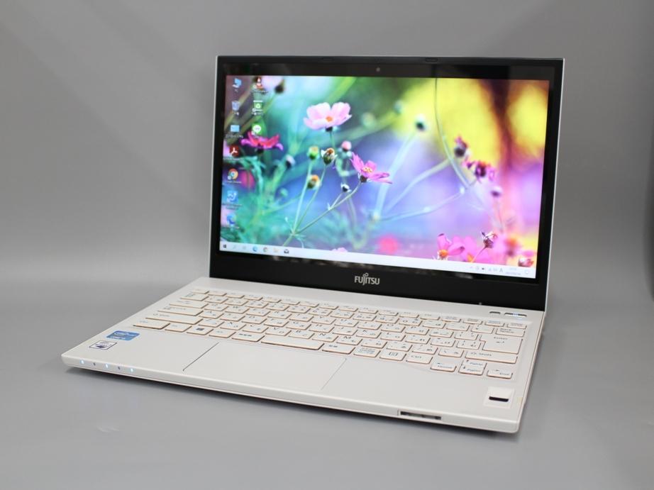 ★1円~ Office2016 富士通 LIFEBOOK SH54/K■Core i5 3230M 8GB HDD750GB+SSD16GB DVDマルチ WiFi カメラ 指紋センサー Windows10 元箱