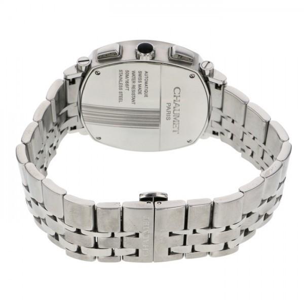 ショーメ CHAUMET ダンディ クロノグラフ W11690-30B シルバー文字盤 中古 腕時計 メンズ_画像5