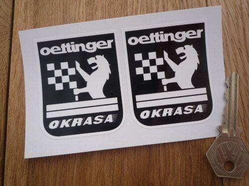 ◆送料無料◆ 海外 エッティンガー Oettinger Okrasa 52mm 2枚セット ステッカー