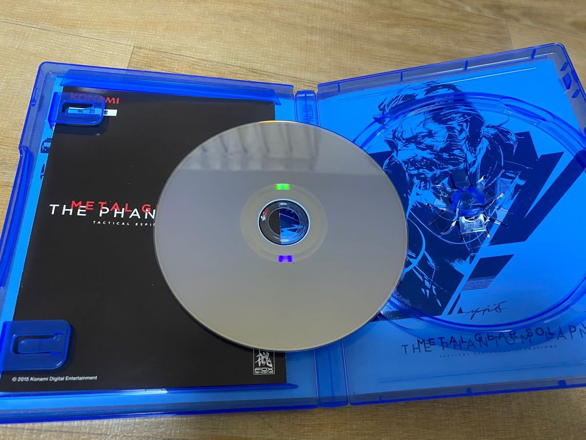 METAL GEAR SOLID V:THE PHANTOMPAINPS4ソフト