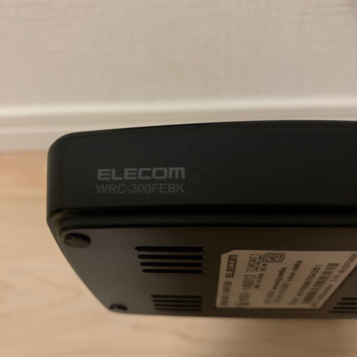 ELECOM WRC-300FEBK 無線LANルーター