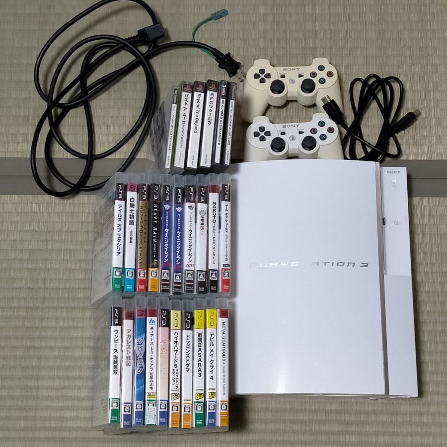 PS3 PlayStation PS3本体 ソフト プレーステーション
