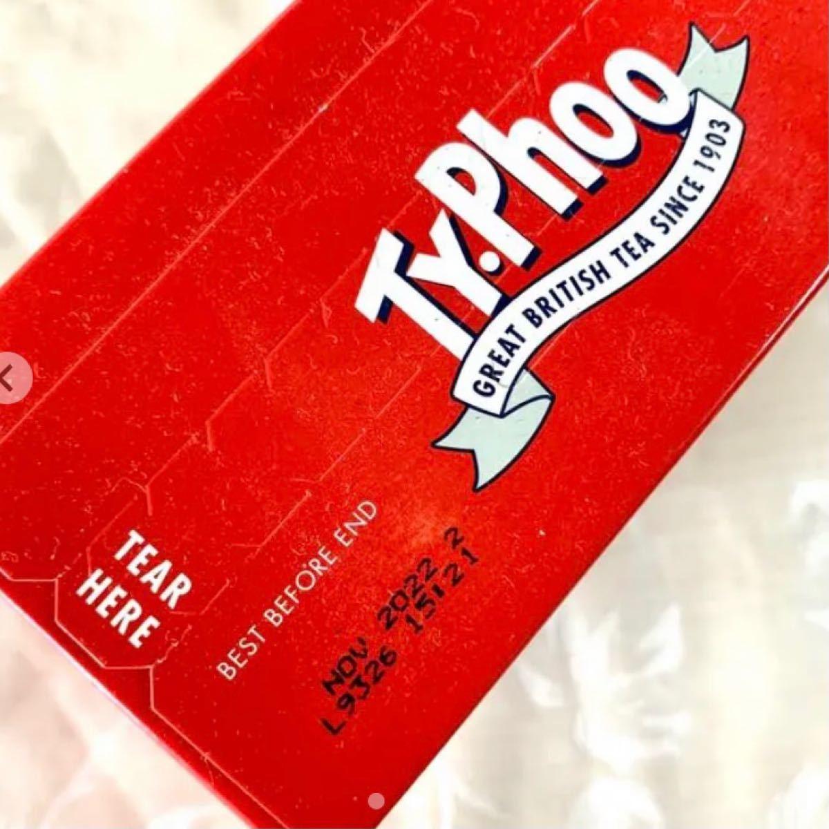 【紅茶 Typhoo tea 大容量80袋入】