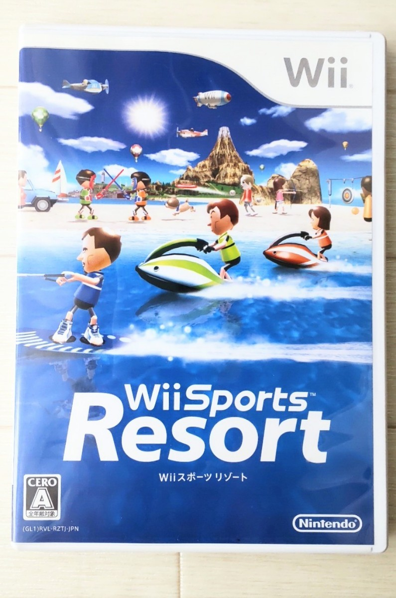 Wiiスポーツリゾート Wiiゲームソフト