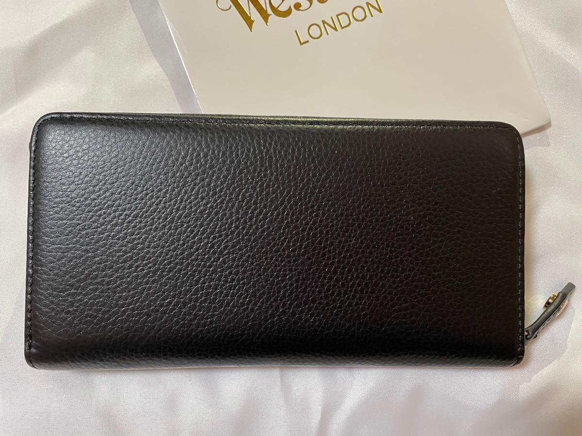 Vivienne Westwood ヴィヴィアンウエストウッド 新品未使用 イエロー×ブラック 黒 長財布 ラウンドファスナー
