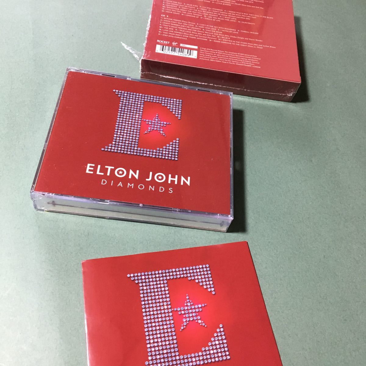 輸入盤CD  エルトンジョン ダイヤモンズ 3CD