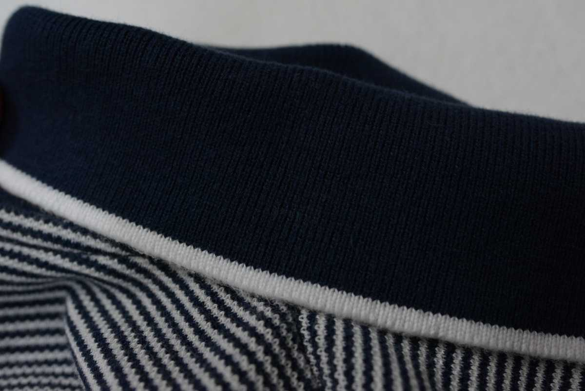 送料無料!! le coq sportif golf collection ルコック ゴルフ シャツ 半袖 ポロシャツ ボーダー ゴルフウェア_画像7