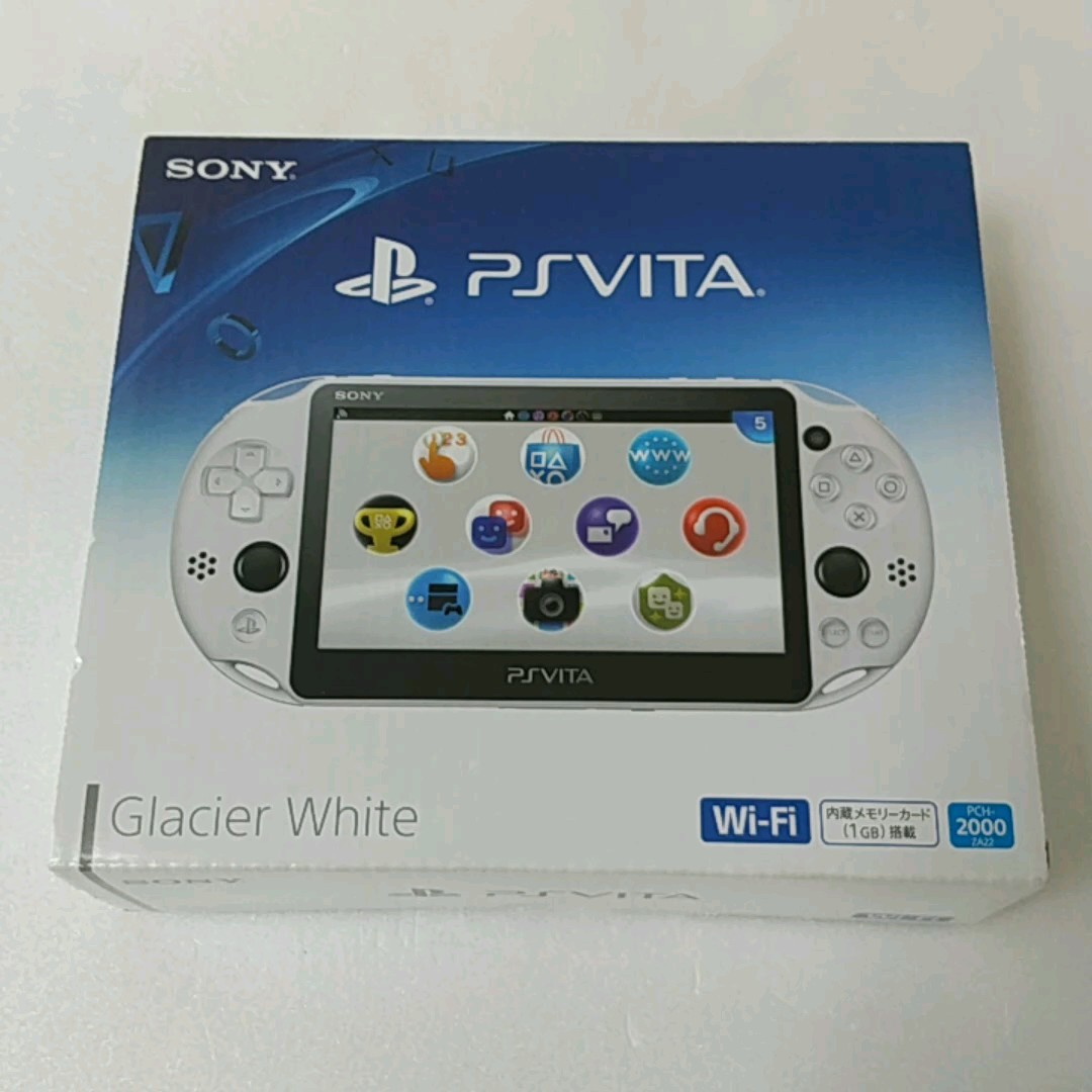 PlayStation Vita Wi-Fiモデル PCH-2000 ZA22