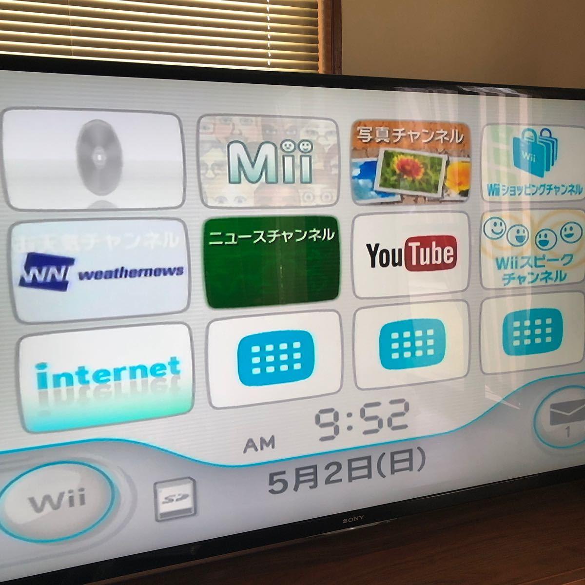 任天堂 Wii  Nintendo LANアダプター付き