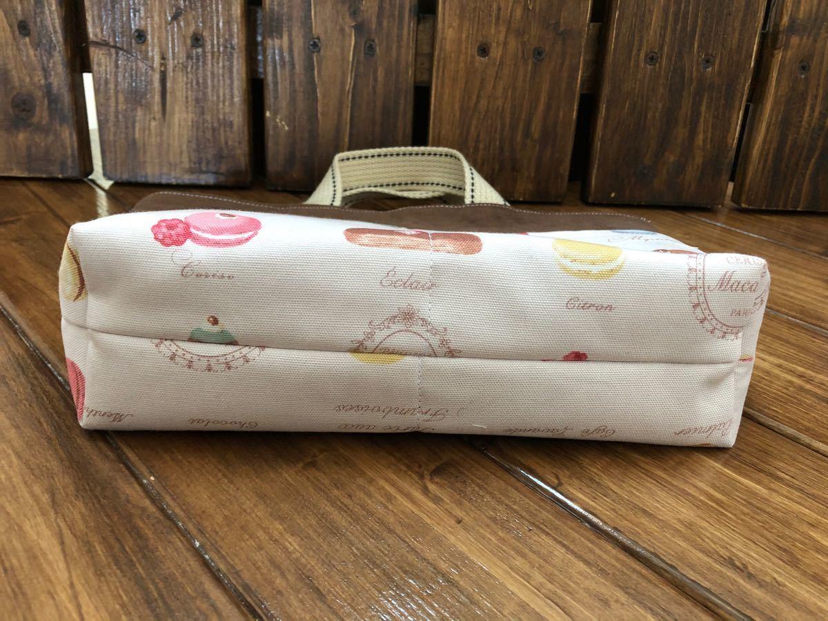 バッグインバッグ マカロンスイーツ(ピンク) ミニトート ミニバッグ