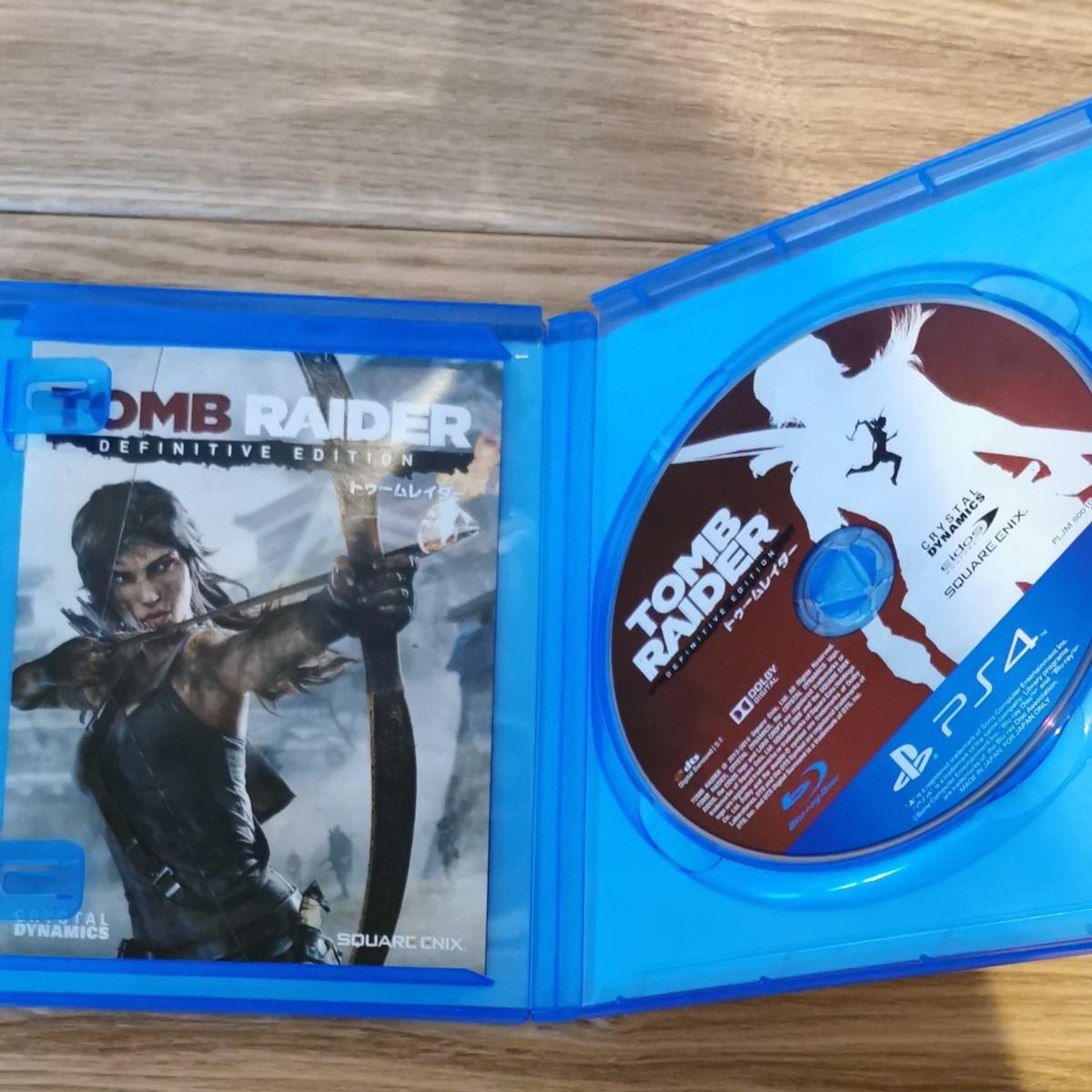 PS4 トゥームレイダー ディフィニティブエディション  TOMB RAIDER DEFINITIVE EDITION