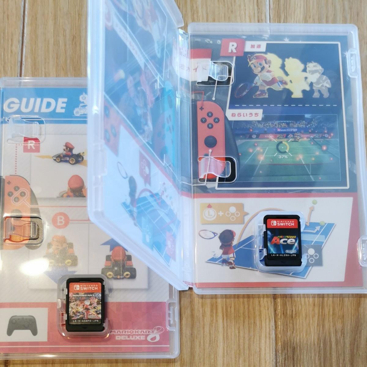 Nintendo Switch マリオカート8デラックス マリオテニスエース セット
