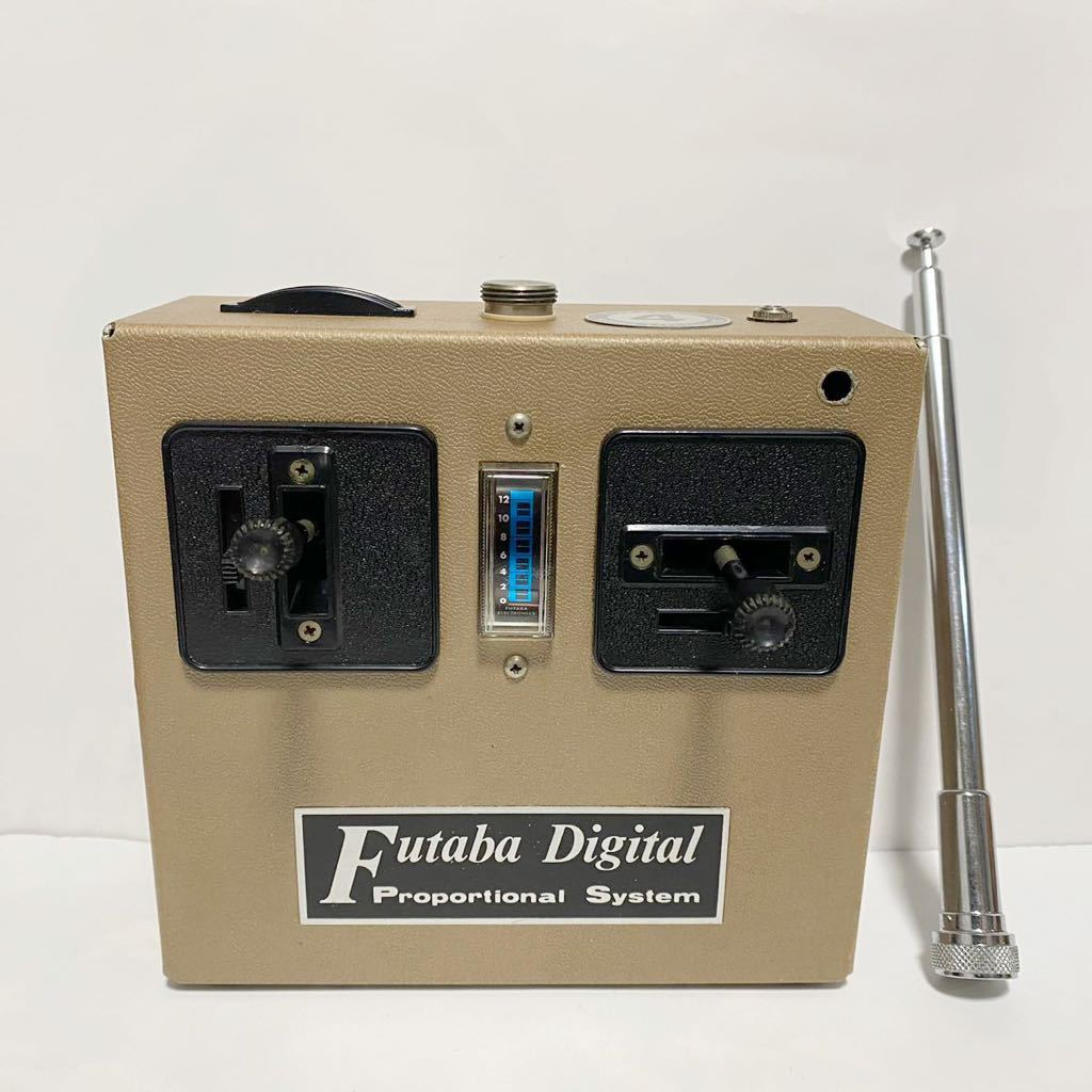 Futaba フタバ プロポ 2ch FP-T2E FP-R2E FP-S4 希少 動作未確認 加工穴あり