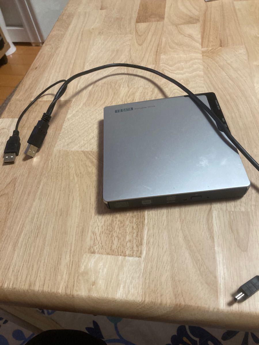 アイオーデータ(IO DATA) 外付けDVDドライブ DVRP-U8XLE2