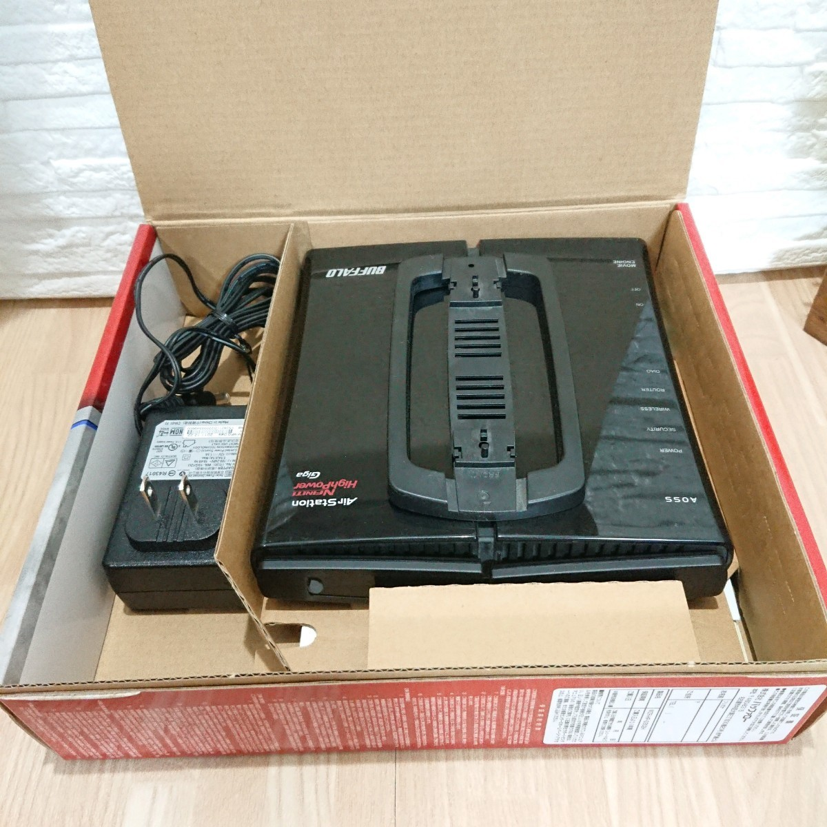 BUFFALO  WZR-HP-G302H 無線LANルーター