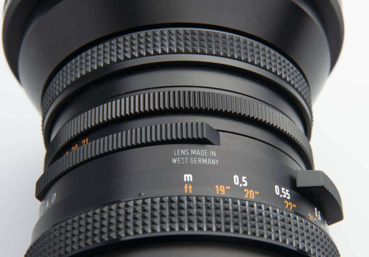 Hasselblad ハッセルブラッド Zeiss Distagon 40mm F4 FLE T*LENS MADE in WEST GERMANY ジャンク扱い 一円スタートで。 _WEST GERMANY