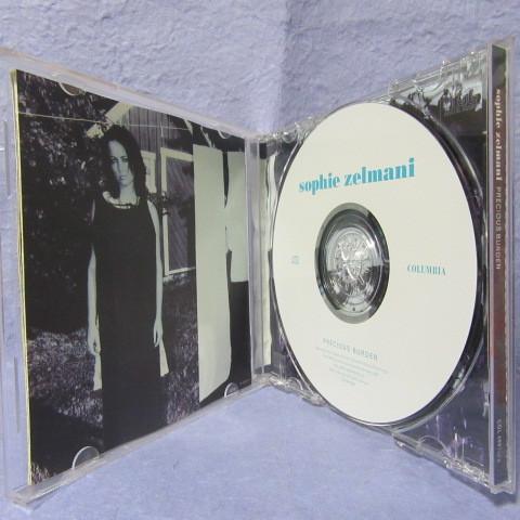 ソフィー・ゼルマーニ「プレシャス・バーデン」【中古CD】 輸入盤 SOPHIE ZELMANI / PRECIOUS BURDEN_画像3