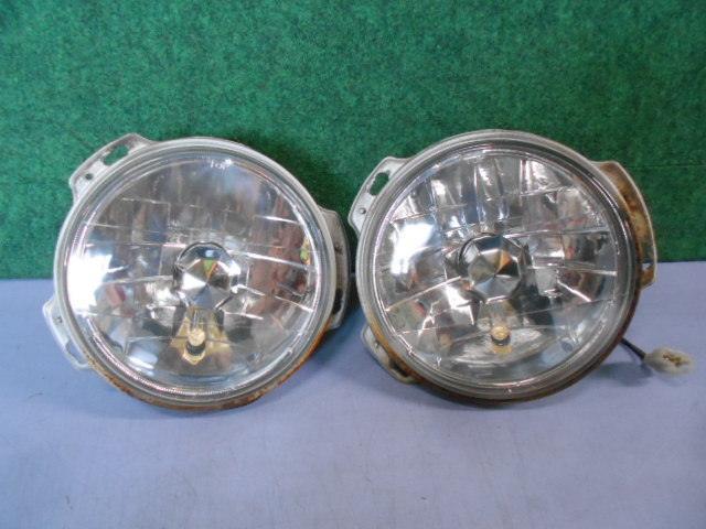 ジムニー JA11V 左右ヘッドライト スモールランプ加工品_画像1