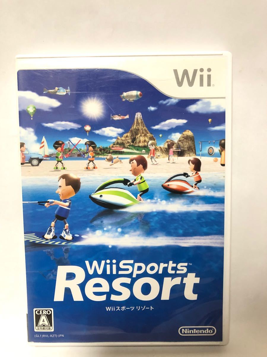 Wii Sports Resort Wiiスポーツリゾート Wiiソフト 任天堂 Nintendo