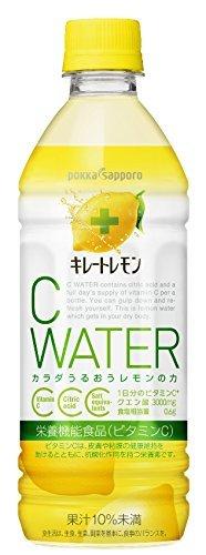 ポッカサッポロ キレートレモンCウォーター(栄養機能食品(ビタミンC)) 500ml×24本_画像4