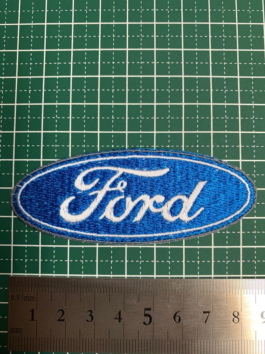 アイロンワッペン フォード 刺繍